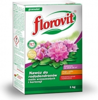 Florovit fertiliser for rhododendrons, ericaceous plants and hydrangea